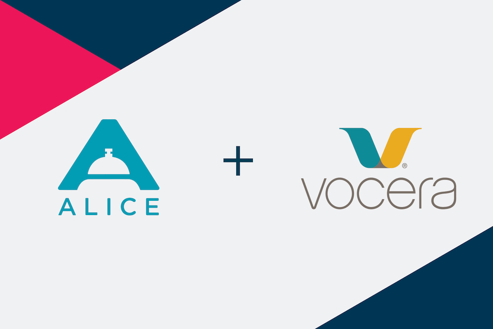 ALICE & Vocera Integrate for Hotel Operations