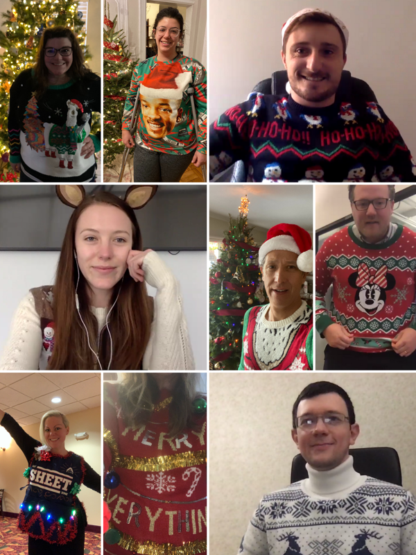 Ugly Sweater Competition - ALICE