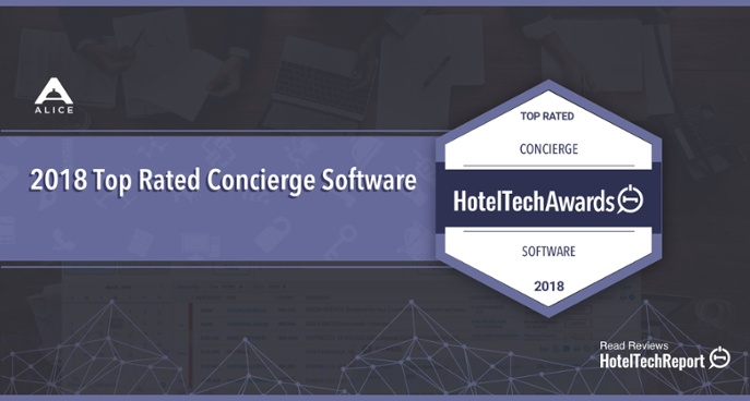 ALICE is the top rated concierge software for 2018