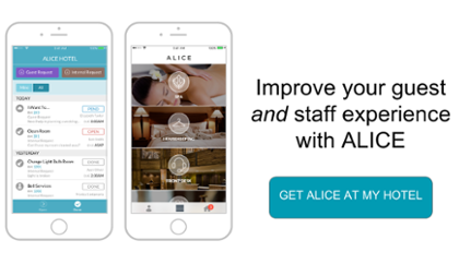Improve your guest and staff experience with ALICE